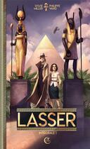 Couverture du livre « Lasser, le détective des dieux ; INTEGRALE VOL.1 » de Philippe Ward et Sylvie Miller aux éditions Critic
