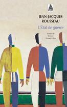 Couverture du livre « Etat de guerre (l') bab » de Rousseau aux éditions Actes Sud
