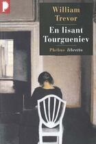 Couverture du livre « En lisant Tourgueniev » de William Trevor aux éditions Phebus