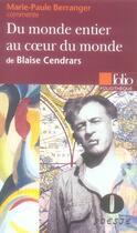 Couverture du livre « Du monde entier/au coeur du monde » de Berranger Marie-Paul aux éditions Gallimard