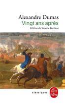 Couverture du livre « Vingt ans après » de Alexandre Dumas aux éditions Lgf