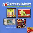 Couverture du livre « 80 idées de faire-part personnalisés » de Sylvie Corre aux éditions Eurofina