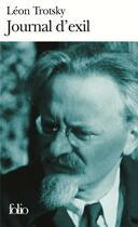 Couverture du livre « Journal d'exil » de Leon Trotsky aux éditions Folio