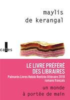 Couverture du livre « Un monde à portée de main » de Maylis De Kerangal aux éditions Verticales