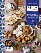 Couverture du livre « Patisseries marocaines » de Nadia Paprikas aux éditions Mango