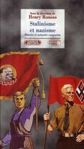 Couverture du livre « Nazisme et stalinisme ; historiographies parallèles » de Nicolas Werth et Henri Rousso et Philippe Burin aux éditions Complexe