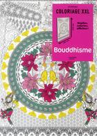 Couverture du livre « ART-THERAPIE ; coloriage XXL ; bouddhisme » de Marthe Mulkey aux éditions Hachette Pratique