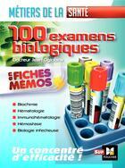 Couverture du livre « Les 100 examens de biologie ESI-IDE ; métiers de la santé » de Jean Oglobine aux éditions Foucher