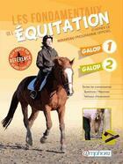 Couverture du livre « Les fondamentaux de l'équitation » de Catherine Ancelet aux éditions Amphora