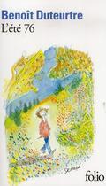 Couverture du livre « L'ete 76 » de Benoit Duteurtre aux éditions Gallimard