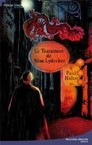 Couverture du livre « Le testament de Sila Lydecker » de Paul Halter aux éditions Nouveau Monde