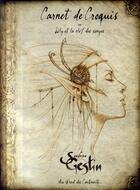 Couverture du livre « Carnet de croquis ; Lily et la clef des songes » de Sandrine Gestin aux éditions Au Bord Des Continents