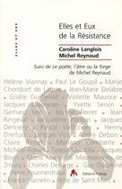 Couverture du livre « Elles et eux de la résistance » de Reynaud et Langlois aux éditions Tiresias