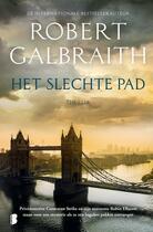 Couverture du livre « Het slechte pad » de Robert Galbraith aux éditions Meulenhoff Boekerij B.v.