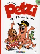 Couverture du livre « Petzi t.8 ; Petzi dans l'ile aux tortues » de Hansen aux éditions Casterman