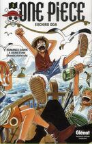 Couverture du livre « One piece t.1 ; à l'aube d'une grande aventure » de Eiichiro Oda aux éditions Glenat