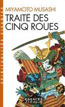 Couverture du livre « Traite des cinq roues » de Miyamoto Musashi aux éditions Albin Michel