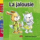 Couverture du livre « La jalousie » de Marie-Anne Didierjean aux éditions Lep