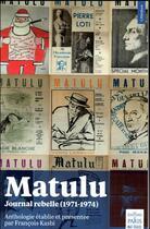 Couverture du livre « Matulu » de Francois Kasbi aux éditions Paris