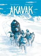 Couverture du livre « Akavak » de Ronan Badel et James Houston aux éditions Flammarion