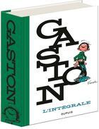 Couverture du livre « Gaston ; l'intégrale » de Jidehem et Andre Franquin aux éditions Dupuis