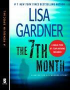 Couverture du livre « The 7th Month » de Lisa Gardner aux éditions Penguin Group Us