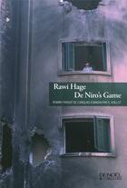 Couverture du livre « De Niro's game » de Rawi Hage aux éditions Denoel