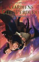 Couverture du livre « Gardiens des cités perdues T.3 ; le grand brasier » de Shannon Messenger aux éditions Lumen