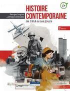 Couverture du livre « Histoire contemporaine ; de 1914 à nos jours (5e édition) » de Georges Langlois aux éditions Cheneliere Mcgraw-hill