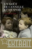 Couverture du livre « Un Goût de cannelle et d'espoir (extrait) » de Sarah Mccoy aux éditions Les Escales