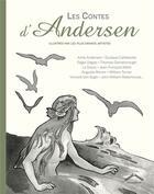 Couverture du livre « Les contes d'Andersen ; illustrés par les plus grands artistes » de Hans Christian Andersen aux éditions Circonflexe
