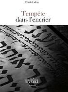 Couverture du livre « Tempête dans l'encrier » de Frank Lalou aux éditions Ovadia