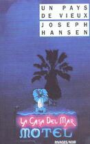 Couverture du livre « Un Pays De Vieux » de Joseph Hansen aux éditions Rivages