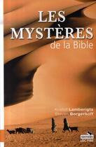 Couverture du livre « Les mystères de la bible » de Borgerhoff/Lamb aux éditions Luc Pire