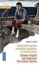 Couverture du livre « 16 very short stories t.2 ; 16 très courtes nouvelles t.2 » de Collectif aux éditions Pocket