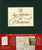 Couverture du livre « Les marches de l'Empereur ; coffret » de Martin Motte aux éditions Lbm