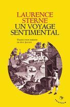 Couverture du livre « Un voyage sentimental » de Laurence Sterne aux éditions Tristram