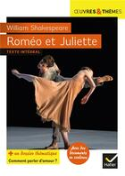Couverture du livre « Roméo et Juliette » de William Shakespeare et Helene Potelet et Claire Folcolini aux éditions Hatier