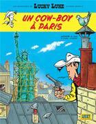 Couverture du livre « Les aventures de Lucky Luke d'après Morris T.8 ; un cow-boy à Paris » de Jul et Achde aux éditions Lucky Comics