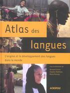 Couverture du livre « Atlas des langues » de Comrie Bernard aux éditions Acropole