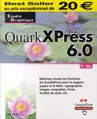 Couverture du livre « Quarkxpress 6.0 » de Loic Fieux aux éditions Campuspress