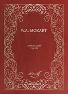 Couverture du livre « Musical diary ; 1784-1791 » de Wolfgang-Amadeus Mozart aux éditions Editions Des Saints Peres
