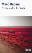 Couverture du livre « Avenue des géants » de Marc Dugain aux éditions Gallimard