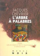 Couverture du livre « L'arbre a palabres » de Jacques Chevrier aux éditions Hatier