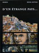 Couverture du livre « D'un étrange pays... » de Michel Suffran et Bousca aux éditions Dossiers D'aquitaine