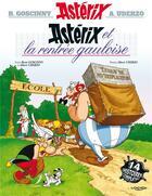 Couverture du livre « Astérix t.32 ; Astérix et la rentrée gauloise » de Rene Goscinny et Albert Uderzo aux éditions Albert Rene