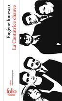 Couverture du livre « La cantatrice chauve » de Eugene Ionesco aux éditions Gallimard