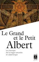 Couverture du livre « Le grand et le petit Albert » de Collectif aux éditions Archipel