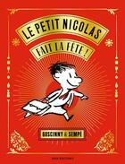Couverture du livre « Le petit Nicolas fait la fête ! » de Jean-Jacques Sempe et Rene Goscinny aux éditions Imav