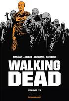 Couverture du livre « Walking dead ; INTEGRALE VOL.13 ; T.25 ET T.26 » de Charlie Adlard et Robert Kirkman et Stefano Gaudiano et Cliff Rathburn aux éditions Delcourt